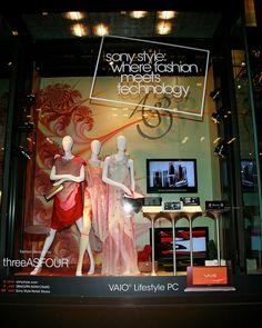 Wonderful store display window.