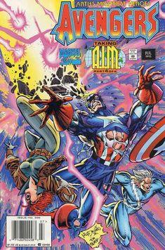 capas da revista em quadrinhos VINGADORES 1963-1996 parte 03 ...