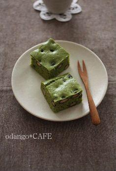 みるまゆ『米粉&豆腐の黒豆抹茶ケーキ』