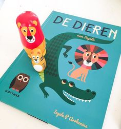 Musthave for every family and Ingela fans. De Dieren van Ingela 40 pages with all amazing and graphic animals by @ingelaparrhenius -XL sized book