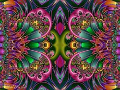 Mind Boggling Fractals - Patti Powers