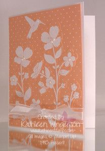 Wildflower Meadow stamp set and embossing folder | Kathleen Stamps