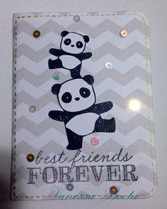 Mama Elephant Pandamonium panda notebook