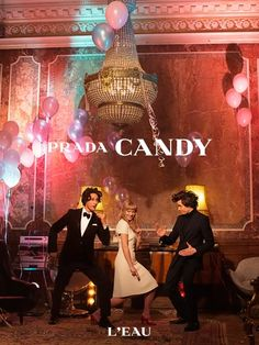 The spirit of Nouvelle Vague cinema is more vibrant than ever in Wes Anderson and Roman Coppola's film for Prada Candy L'Eau, starring the beautiful young darling of French cinema Léa Seydoux.