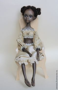 Коллекционные куклы ручной работы. Ярмарка Мастеров - ручная работа Джемма. Подвижная кукла. Handmade.