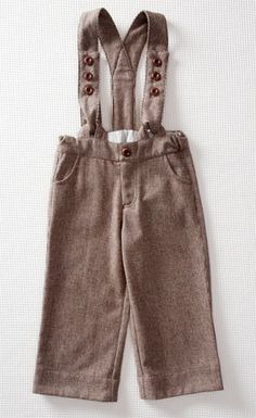olive's friend pop // little button trousers