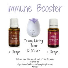 Essential Oils: Immune Booster - Our Piece of EarthOur Piece of Earth
