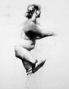 Juxtapoz Magazine - Drawings by Mark Tennant Anatomy Drawing, Body Drawing, Anatomy Art, Life Drawing, Drawing Sketches, Art Drawings, Female Drawing, Figure Sketching, Figure Drawing