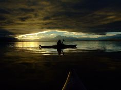In kayak with.....  a former love - Kayaking