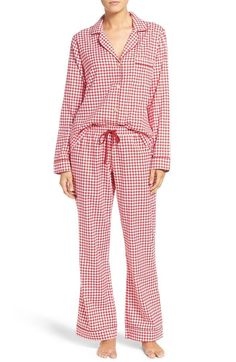 25+ Perfect Pajamas For Your Next Netflix Marathon #refinery29  http://www.refinery29.com/cute-fall-pajamas#slide-3  UGG Raven Houndstooth Pajamas, $98, available at Nordstrom....