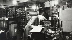 Joyce Wheeleras a PhD student under Fred Hoyle using Edsac - the Electronic Delay Storage Automatic Calculator Phd Student, Science And Technology, Calculator, Programming, Instruments, History, Storage, Women, Art