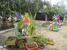 Как украсить участок в детском саду своими руками на лето