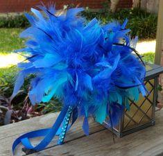 35 Gorgeous Blue Bouquets | Weddingbells