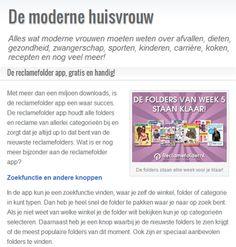Bekijk het hele artikel op: http://modernehuisvrouw.nl/2014/02/de-reclamefolder-app-gratis-en-handig.html