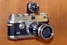 Foca camera c. 1947 at the Musée des Arts et Métiers in Paris.