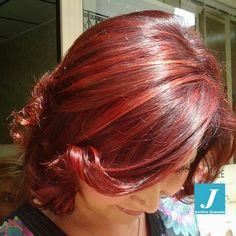 #red#overture2015#hairstylist#haircut#passione#nuance#originalshailes#degradéjoelle#starlight#