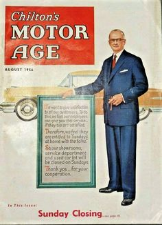 Chilton's Motor Age, August 1956.
