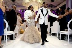 Kandi Burruss and Todd Tucker's Coming to America themed wedding