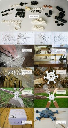 Simple to snap together joints that make durable geodesic domes fun and easy to build. We need help to fund the injection moulds.