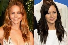Jennifer Lawrence ist jetzt brünett. Wie gefällt Euch der neue Look?