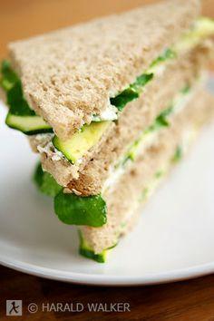 Watercress Tea Sandwiches ~A classic British favorite for high tea and picnics, made vegan.