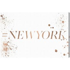 Remedy Runway Avenue 'Hashtag New York' Art (24x16)