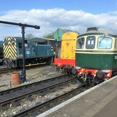 Epping at North Weald classes 03, 20 and 33 #classictraction #railfans_of_instagram #preservedrailway