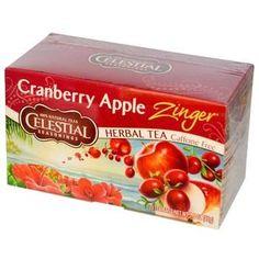Celestial Seasonings Cranberry Apple Zngr/Vit C (6x20BAG )