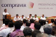 El gobernador Javier Duarte de Ochoa  explicó que COMPRAVER  es un mecanismo novedoso que permite acelerar procesos y encontrar mejores precios bajo un sistema de rendición de cuentas al ciudadano.