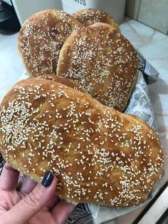 Greek Recipes, Hamburger, Grilling, Food And Drink, Bread, Originals, Holidays, Kitchens, Holidays Events