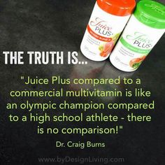Juice Plus For Life! www.byronhayes.juiceplus.com                                                                                                                                                      More