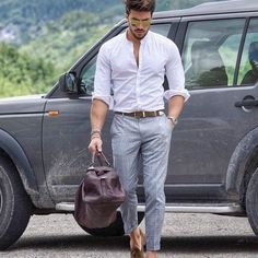 Looks like a fun kind of commute to us!  #gentlemen #gentleman #quality #style #fashion #stylish #mensfashion #leather #mensstyle #swag #swagger #shopping #menswear #menstyle #menfashion #mens #menwithstyle #menwithclass #menstyleguide #leathergoods #leathercase #leatherwallet #gentlemenstyle #gentlemenfashion #landrover