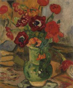 louis valtat(1869-1952), bouquet de fleurs. oil on canvas, 45.7 x 38.1 cm   http://www.christies.com/lotfinder/lot/louis-valtat-bouquet-de-fleurs-4815249-details.aspx?from=salesummary=4815249=0159ad49-a16c-432a-9b21-838f92186e3d