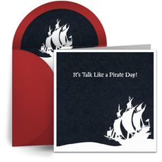 Talk like a pirate day cards