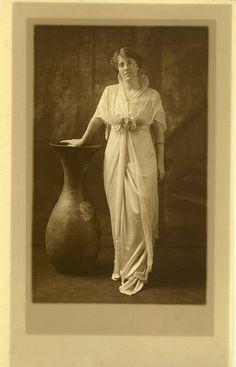 Portrait of Margaret Wilson, daughter of President Wilson and Ellen Axson Wilson.