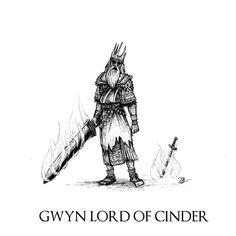 Dark Souls - Gwyn Lord of Cinder by Skinrarb on DeviantArt