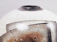 White Crackle Glaze Recipe, Cone 06 Oxidation from Ceramics Arts Monthly