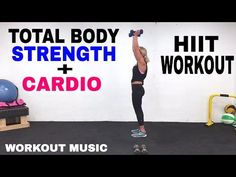 10/4/16 Complete 10/3/16 first 20 min, 35 Minute, Total Body Workout, HIIT Cardio + Strength With Weights - YouTube
