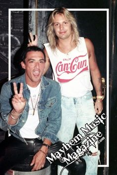 Stephen Pearcy & Vince Neil