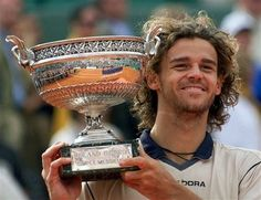 Gustavo Kuerten is elected into the Tennis Hall of Fame. Well deserved for the three-time French Open Champion. March 8, 2012