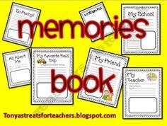 End of Year Memories Book