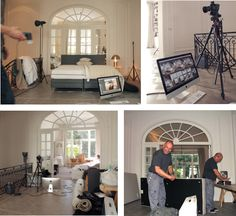 Behind the scenes - Styling Marie Masureel - photography shoot of our Ultima by Beka® boxspring collection.