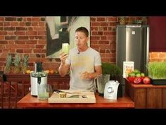 Juice Master Smoothie recipes - VIDEOS from his youtube channel