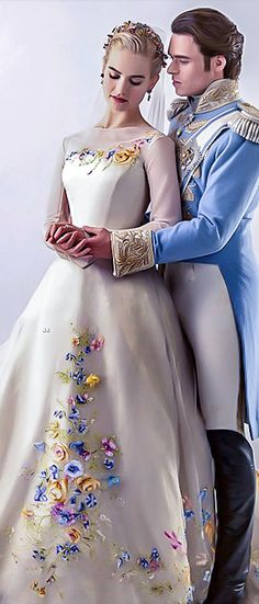 A Disney wedding is pretty much the dream. wedding quiz Which Disney Wedding Should You Have? Wedding Dress Black, Wedding Gowns, Cinderella 2015 Wedding Dress, Cinderella Prince, Princess Wedding, Wedding Attire, Cinderella Dress Disney, Movie Wedding, Cinderella And Prince Charming
