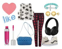 """""""El Outfit de hoy"""" by florchipaez ❤ liked on Polyvore featuring Dex, Chicnova Fashion, Vans, Goyard, Beats by Dr. Dre, Sevil Designs and Bling Jewelry"""