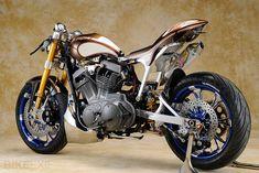 O que antes já foi uma Harley-Davidson Sportster - by Asterisk