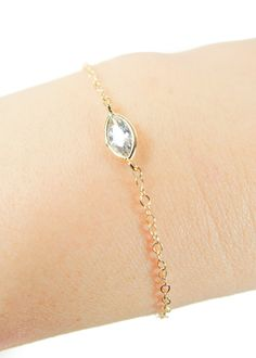 Kalala armband gouden armband solitaire gouden armband