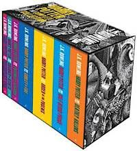 Harry Potter 7 Books Box Set (Adult Paperback) (pocket)