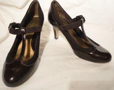 Circa Joan & David Brown Enlighten T Strap Heels Shoes Sz 5 1/2 M http://www.ebay.com/itm/251402754027?ssPageName=STRK:MESELX:IT&_trksid=p3984.m1555.l2649