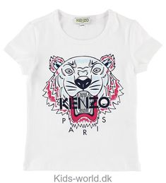 - Casual cotton tee with contrasting front graphic- Roundneck- Short sleeves- Cotton- Machine wash- Imported Kenzo, Only Girl, Girls Shopping, Cotton Tee, Size Clothing, Girl Fashion, Short Sleeves, Sweatshirts, Tees